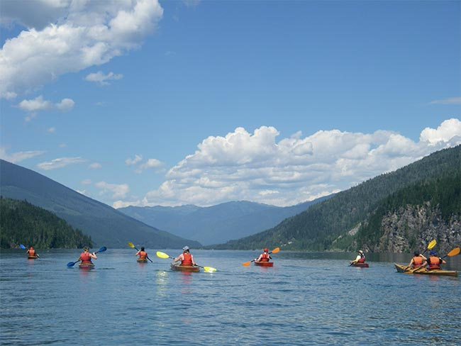 View north on Lake Revy
